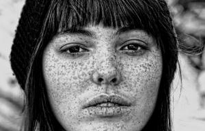 My Freckle Faced Portraits were pulished by B-Authentique Magazine